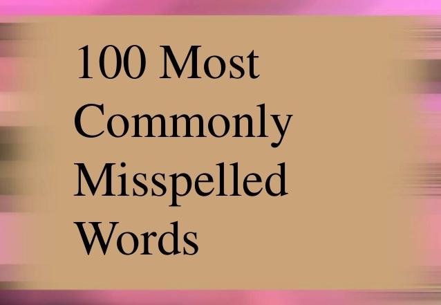commonly misspelled words 1 638 638x441 - آموزش ها